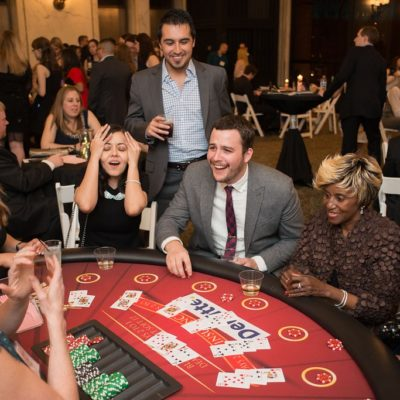 Photo from Ladder Up's Casino Night event